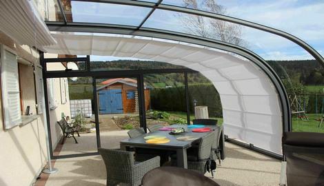 abri terrasse l store int gr. Black Bedroom Furniture Sets. Home Design Ideas
