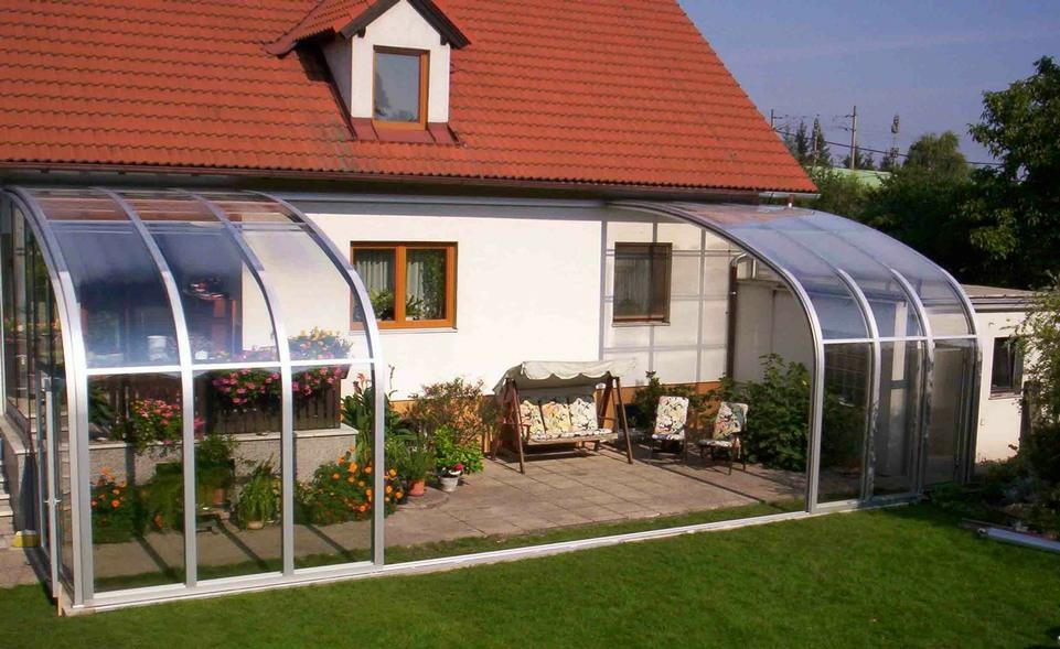 Photo 17 l abri terrasse veranda coulissante l v roka for Abri veranda