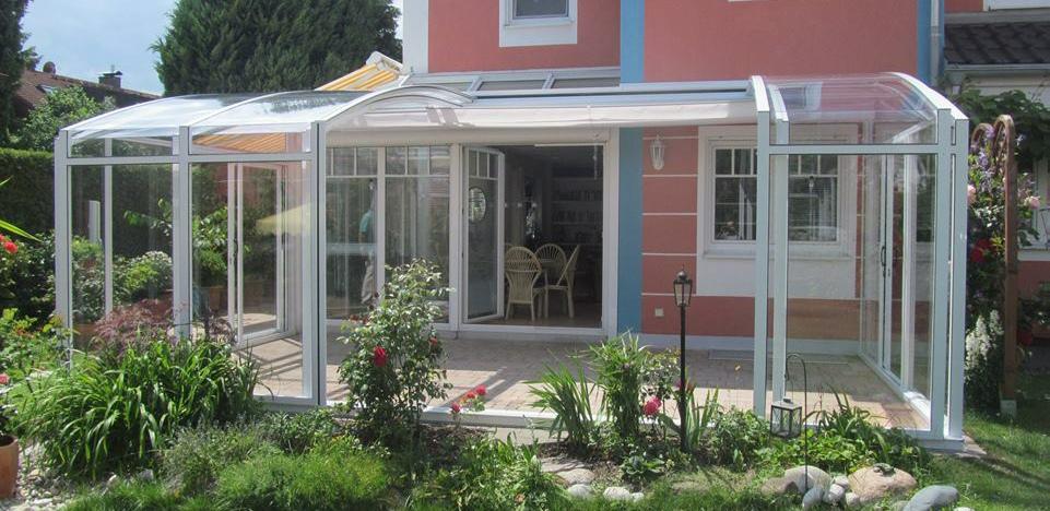 salor v randa topaz aluminium l abris terrasse pan droit l pergola vitr e. Black Bedroom Furniture Sets. Home Design Ideas