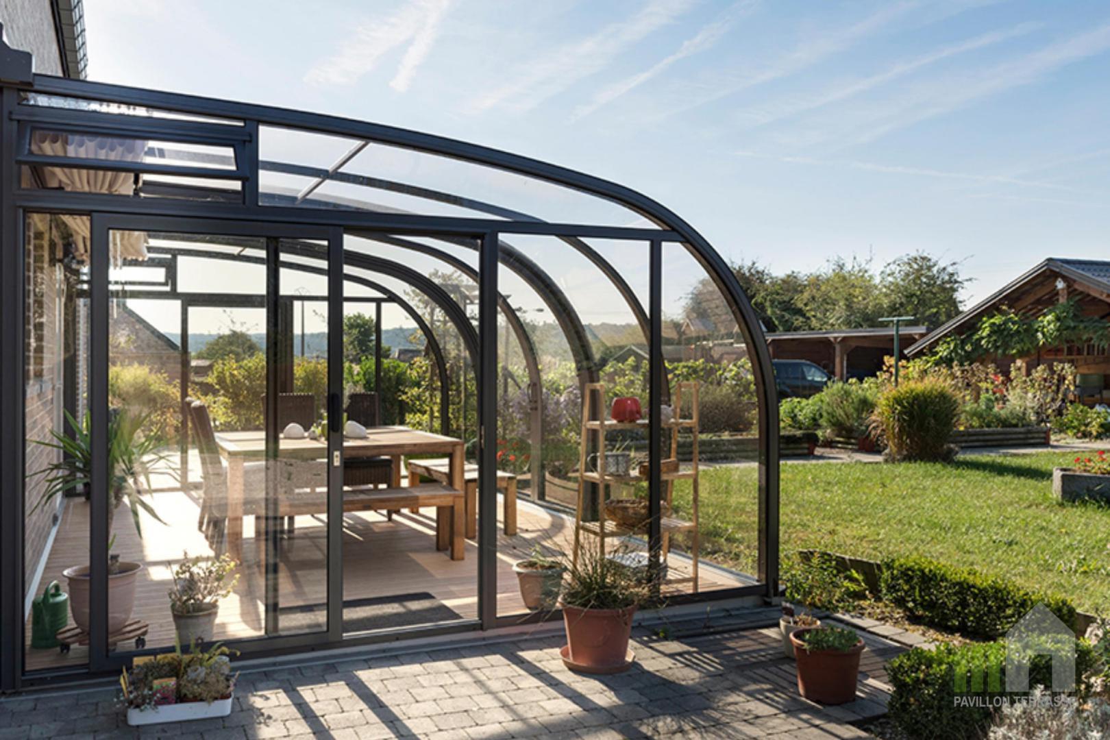 Abris Terrasse Pavillon I Solar V Randa Coulissante Mobile