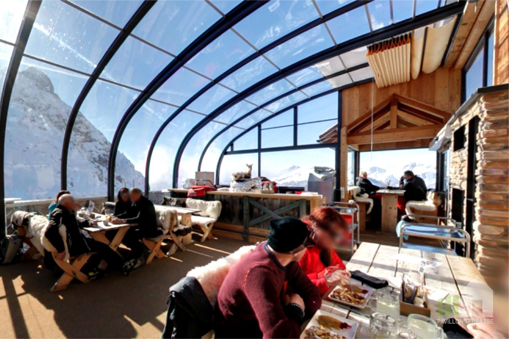 Abris Verandas Restaurant I Constructions Mobiles Pour Les